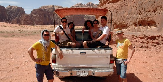 Classic Wadi Rum Tours - Private Day Tours: il Tusoperator.it nel Wadi Rum