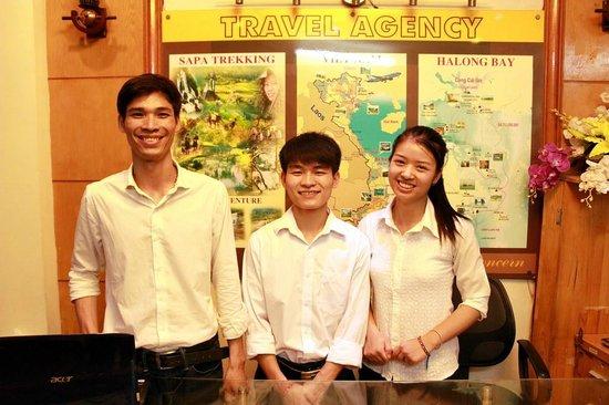 Madame Moon Hotel: great servie team of madam moon