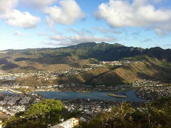 Koko Crater Trail: View from top