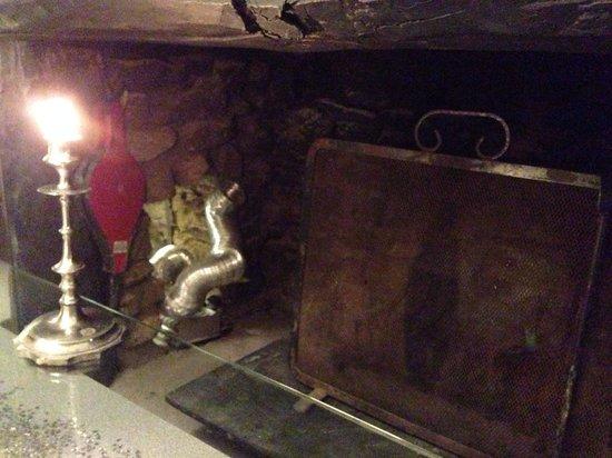 Le Clos des Framboisiers : La cheminée