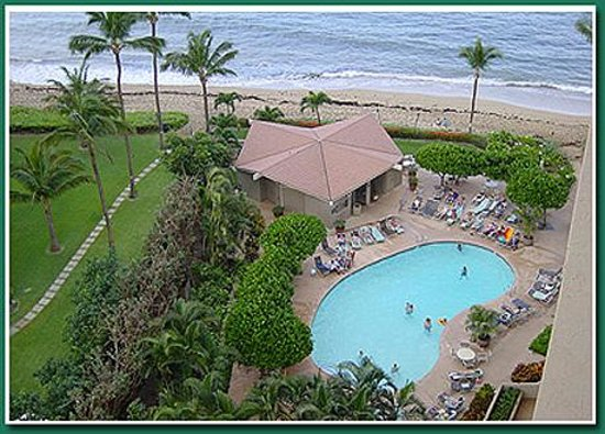 Maui Beach Ocean View Rentals: Pool at Outrigger Royal Kahana