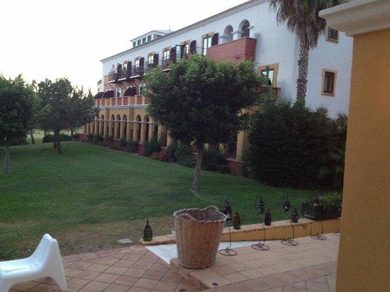 Hotel Isla Canela Golf: Vista desde la terraza del restaurante