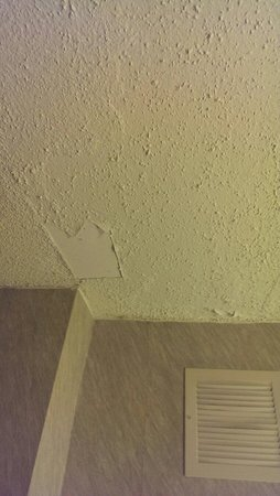 Doubletree Houston Intercontinental Airport : Ceiling needs repairs.