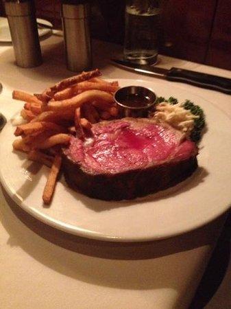 Ringside Steakhouse: 16oz prime rib @ $49