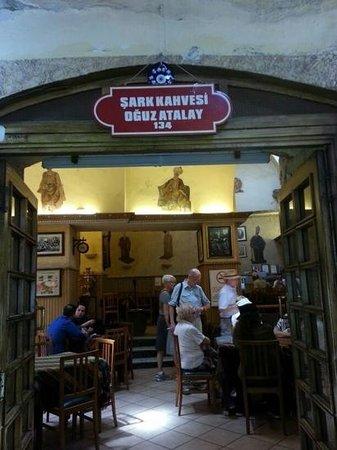 Sark Kahvesi: Small coffee house