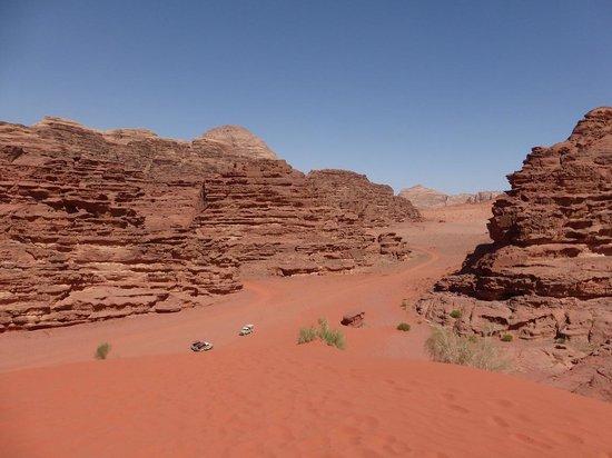 Wadi Rum Discovery : sand dunes