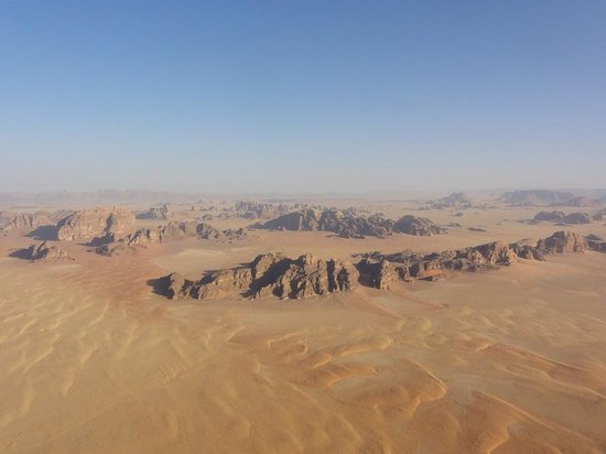 Wadi Rum Discovery: From the balloon