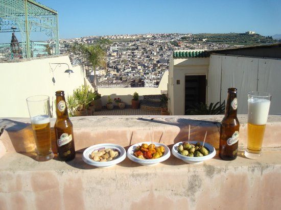 Dar Anebar: Enjoying the roof terrace