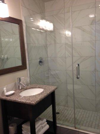 Pacific Edge Hotel on Laguna Beach : small bath