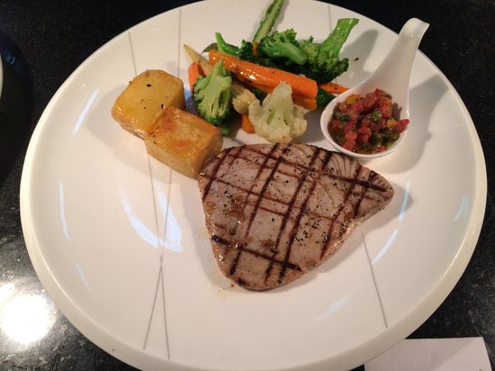 Prego: Grilled tuna