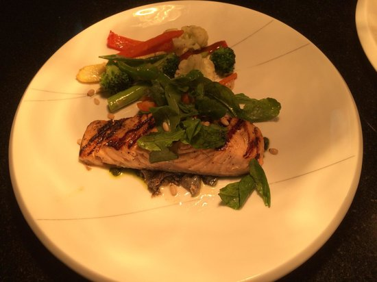 Prego: Fresh from the grill , salmon