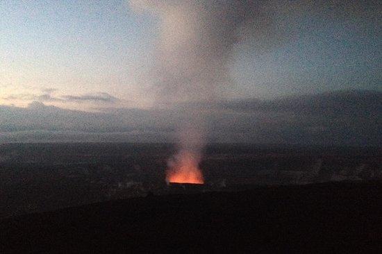 Hawaii Volcanoes National Park : Predawn View