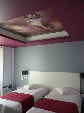 Hotel des Gorges du Tarn: Chambre n°3
