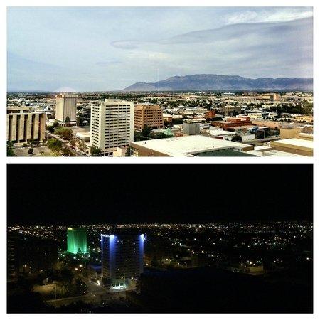 Hyatt Regency Albuquerque: Albuquerque by day...by night