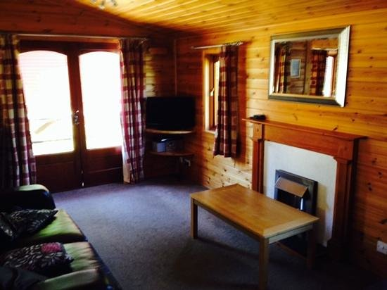 White Cross Bay Holiday Park: Lounge area
