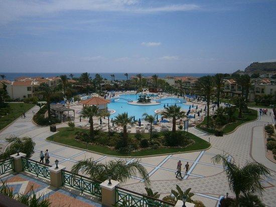 Lindos Princess Beach Hotel: Vue de notre chambre