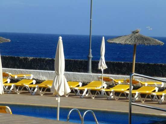IBEROSTAR Lanzarote Park : View from the back of the restaurant.