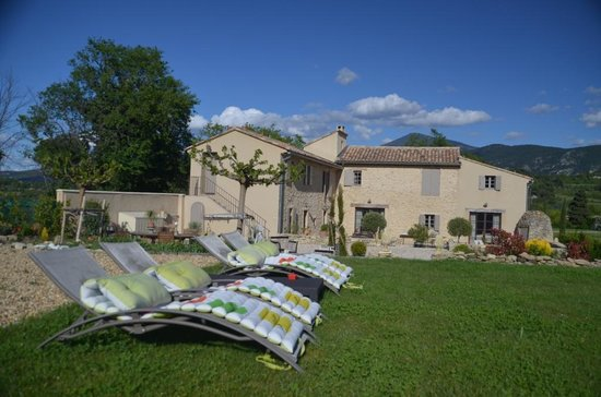 Mas de Longuefeuille: Relaxen im Garten