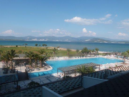 Venosa Beach Resort & Spa: View from balcony