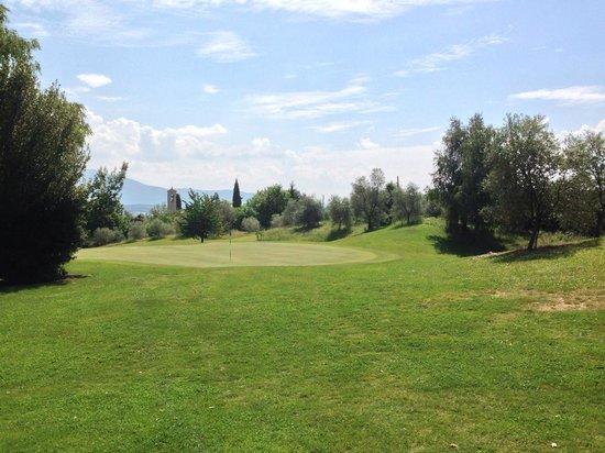 Golf Hotel Ca' Degli Ulivi: Green Loch 13