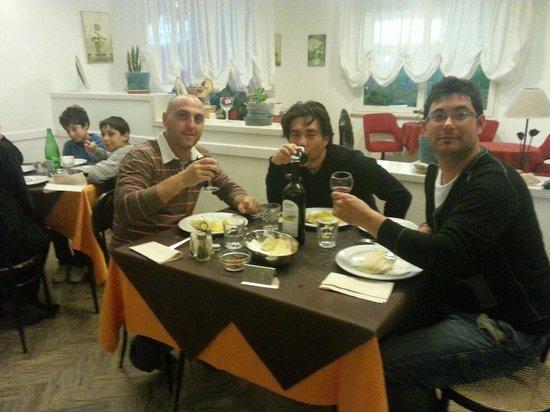 Hotel Morri: Uno degli ottimi pranzi del Morri... grazie Silvia!