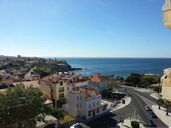 SANA Estoril Hotel: Utsikt från vån 5 mot Atlanten