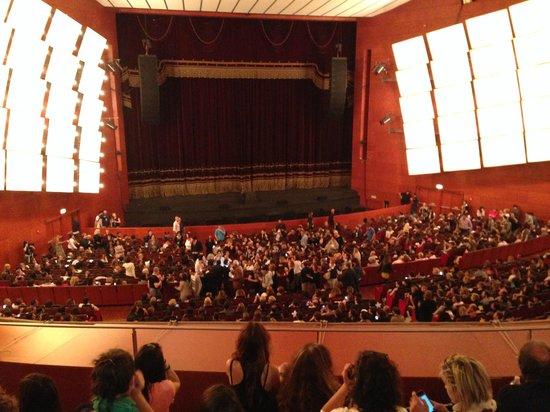 Teatro degli Arcimboldi: palco