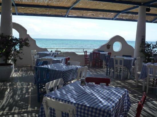 Paloma Pasha Resort : Restaurant Ada, repas de midi, le soir sur réservation