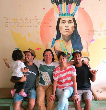 Sitting Bull Hostel: Amigos