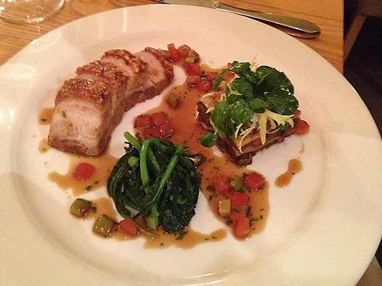 Sienna: Slow-roast pork belly