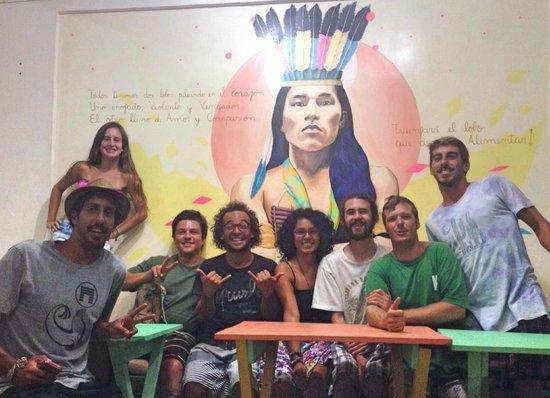 Sitting Bull Hostel: Área para socializar