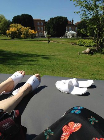 Bannatyne Spa Hotel: Relaxing the next day on the wonderful loungers