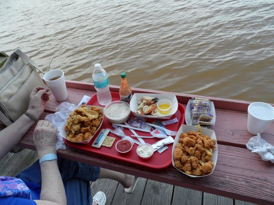 City Seafood : Conch and french fries