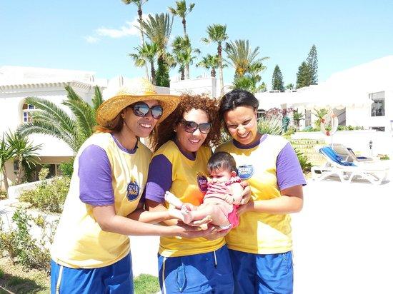 Iberostar Diar El Andalous: Girls from the entertainment team