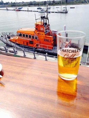 RNLI College: Balcony of Riggers Bar