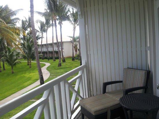 Sugar Beach Mauritius : Balcón de una habitación estándar