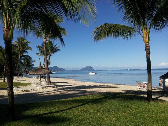 Sugar Beach Mauritius : Playa del hotel