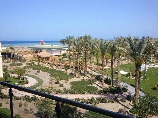 Tropitel Sahl Hasheesh: Blick vom Balkon
