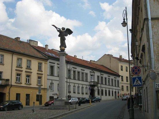 Uzupis: Главный ангел