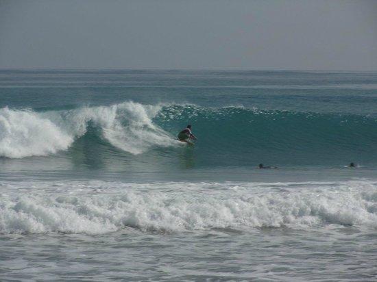 Casa Coson : la plage au  petit matin...