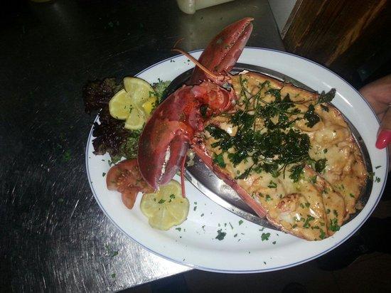 Andrews Restaurant: Simons lobster special