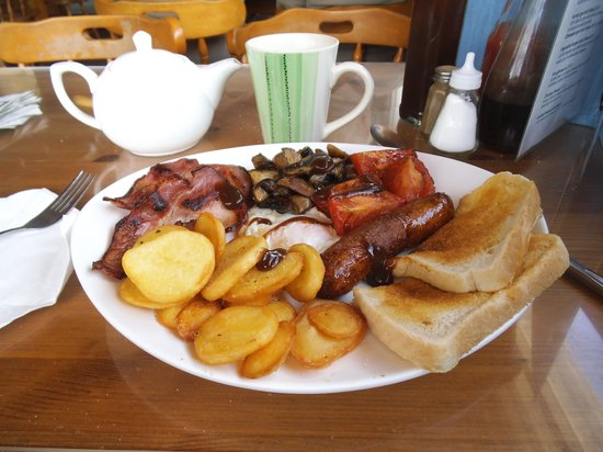 Sizewell Beach Cafe: Big breakfast.