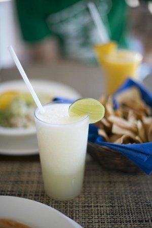 Casa del Mar Golf Resort & Spa: Pina colada of course!
