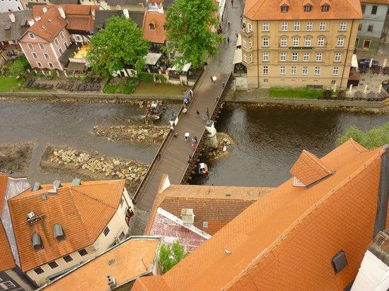 Historic Center of Cesky Krumlov: мост