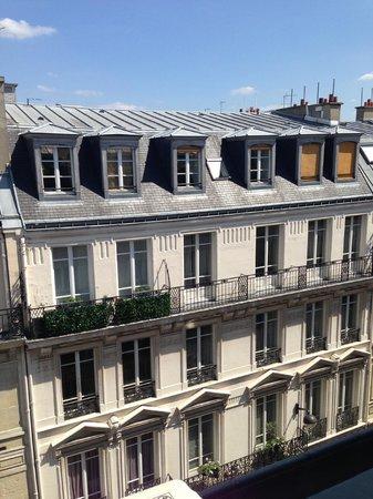 Hotel Aida Opera: panorama sui tetti parigini