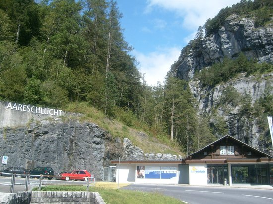 Aare Gorge: Osteingang