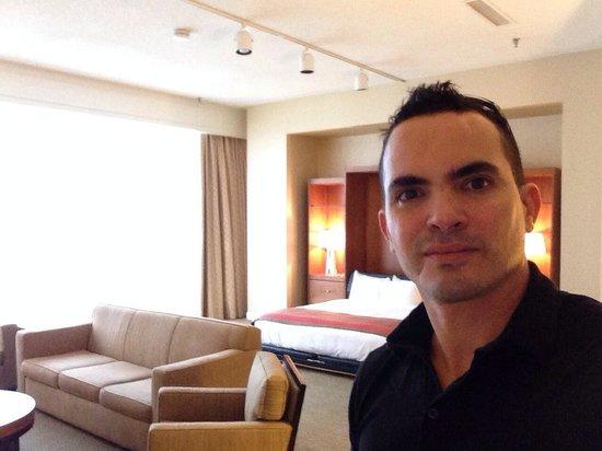 Hilton Atlanta: Large Bedroom