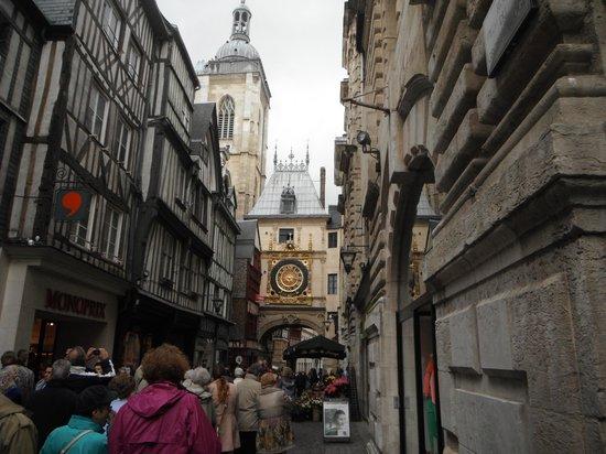 Rue du Gros Horloge : Rue du Gros-Horloge