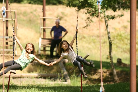 Marble Mountain Ranch - Family Guest Ranch : Zip Line