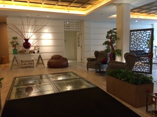 Hotel Fort Canning: Hotel reception
